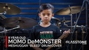 """Meshuggah Drum Cover: """"Bleed"""" by 8-Year-old, Momo DeMonster from the Philippines"""