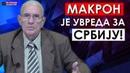 Nikola Aleksić Makron je uvreda i poniženje za srpski narod