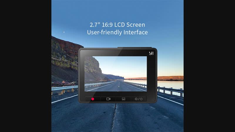 Обзор видеорегистратора Xiaomi Yi Car DVR 1080P WiFi Gray