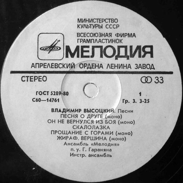 Звукозаписывающая фирма «Мелодия» выложила в интернет часть классической коллекции