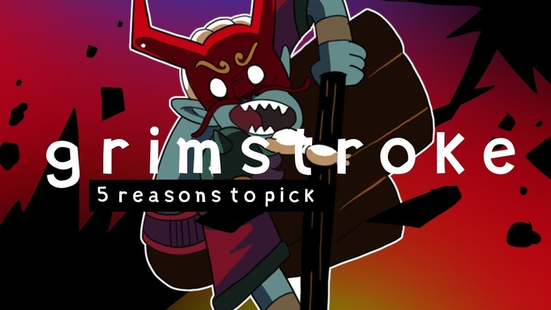 5 REASONS TO PICK GRIMSTROKE (DOTA 2)