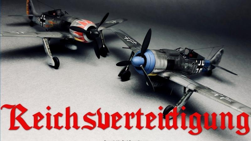 Постройка Focke-Wulf Fw190A Würger в 172 от Eduard