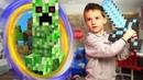 КРИПЕР в ДОМЕ Minecraft В РЕАЛЬНОЙ ЖИЗНИ - MINECRAFT IN REAL LIFE Creepers Attack