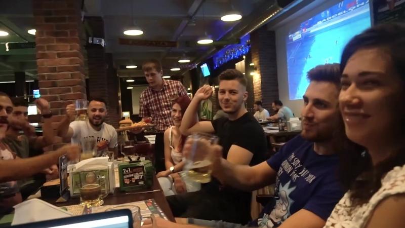 Băieții din trupa Noaptea Tarziu au vizitat Moscova
