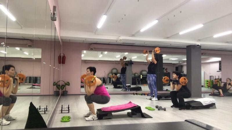 Приседжим/Кроссфит/CardioFit Workout-семинар SFC