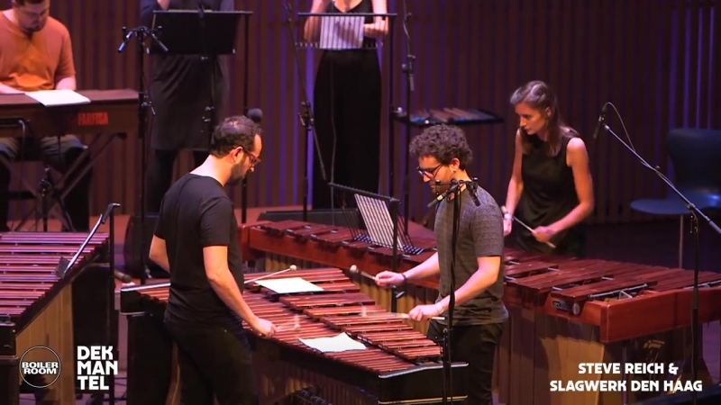Steve Reich Slagwerk Den Haag   Boiler Room x Dekmantel Festival Live Show