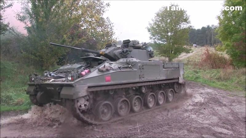Dozens of Challenger 2 Tanks Warrior IFV Storm a Compound - British Army 2017