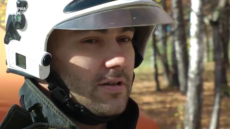 Добровольцы-спасатели провели учения в Подмосковье