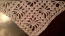 How to tie shawl crochet Pattern for shawl crochet El patrón de bufanda