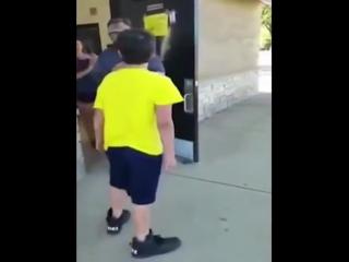 Наказал наглого школотрона