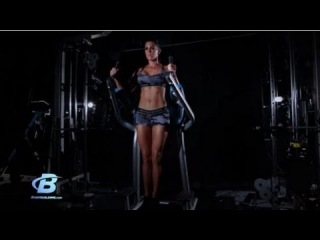 Lindsey Renee's Hour Glass Workout - Abs / Legs / Glutes Workout - Bodybuilding.com
