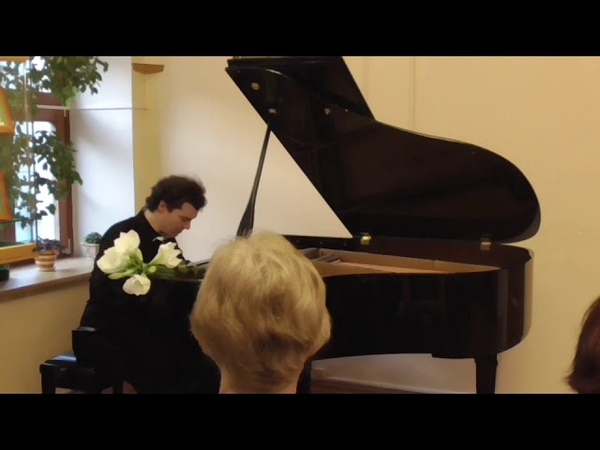 K.Alexeev plays his Meditation D-dur (dedicated to S. Dorensky)