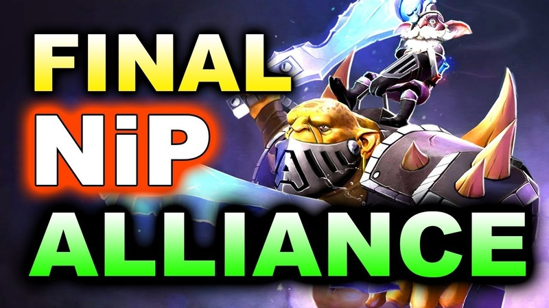 ALLIANCE vs NiP - ALLIANCE IS BACK! EU FINAL!! - KUALA LUMPUR MAJOR DOTA 2