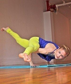 Йога для уменьшения объема бедер, талии и укрепления мышц живота…. (6 фото) - картинка