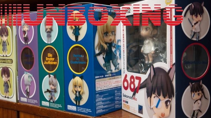 Unboxing - Sakamoto Mio (Nendoroid 687)[by Phat]