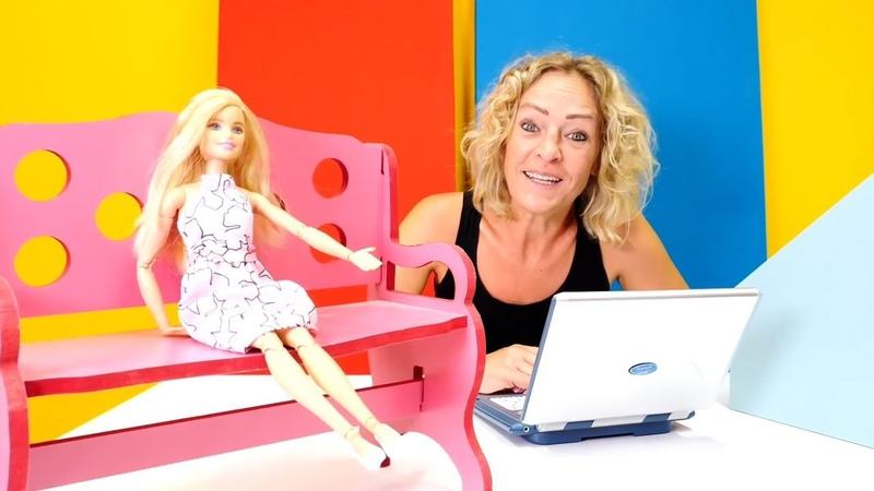 Nicoles Arbeitsagentur Barbie sucht einen Job Spielzeugvideo für Kinder