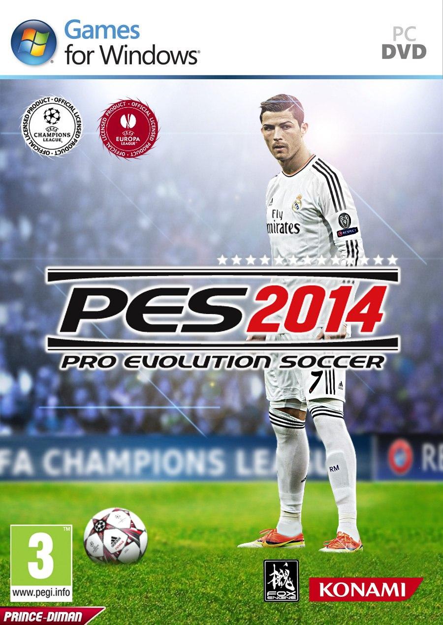 Pro Evolution Soccer 2014 (Psp/Rus) (2013)