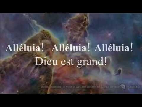 Французский христианский язык. Сombien Dieu est grand