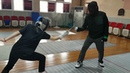 Fencing foil lesson - zi a fencing