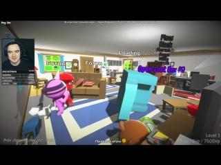 Ультраупоротый Party Panic с друзьями, SPC Secret Laboratory со зрителями в конце