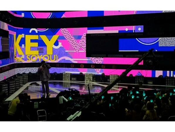 """샤이니(SHINee) Official on Instagram """"[🎥 KEY] 키 ForeverYours 📺 막방 여러분 안녕~ 하지만 신인가수 솔로가수 키 금방 또 만나요~ 🤗 - @bumkeyk SHINee 샤이니 @shinee"""""""