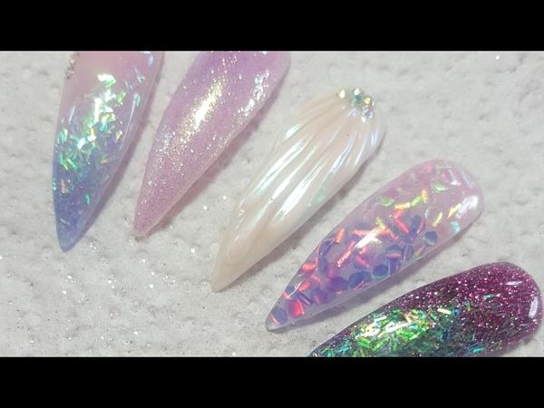 CJP | Mermaid Nails | Acrylic