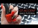 GT Nail Art   OPI x Mustang