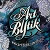 ArtBYtik * роспись одежды, handmade, принты, арт