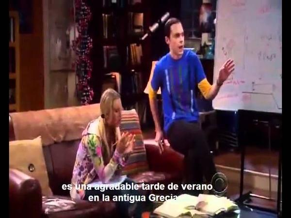 Sheldon Enseña Física a Penny.flv