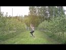 Яблоневый сад в экоцентре Аура Ярославская обл