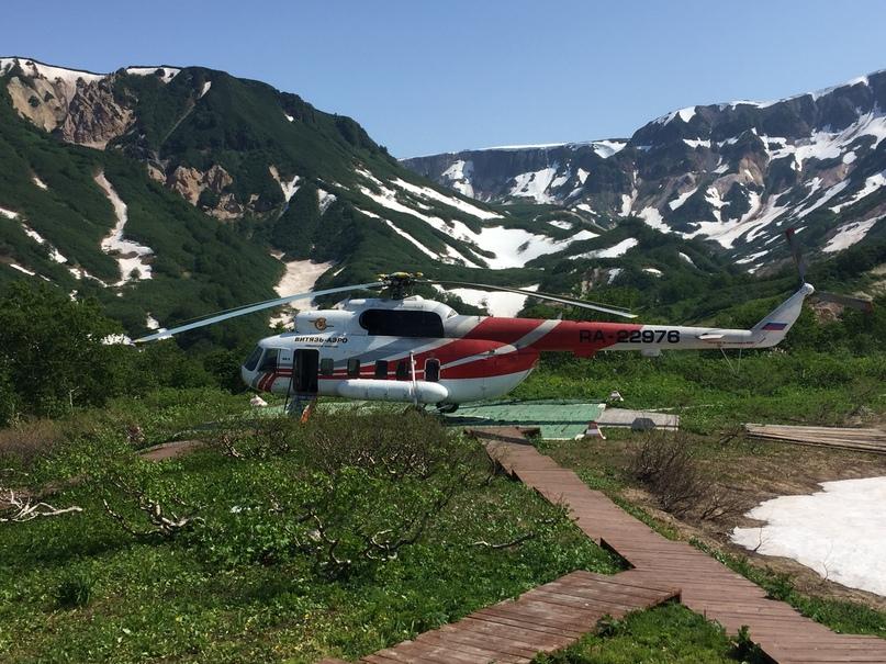 Вертолетная экскурсия. Вертолет второй группы