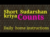 Short sudarshan kriya counts|Short kriya at home|Three stage pranayam count| art of living|Bmind Tsk