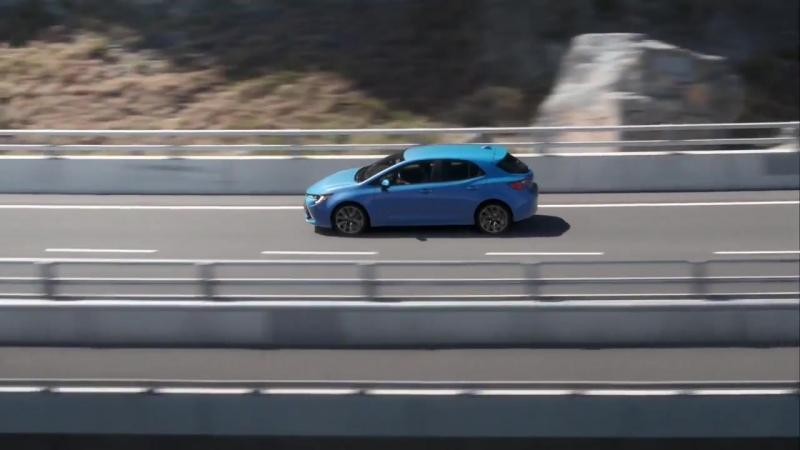 Новая Toyota Corolla хэтчбек