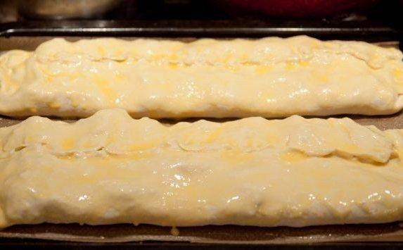 Слоеное тесто с творогом пошаговый рецепт
