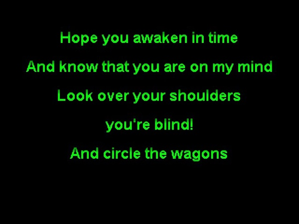 Darkthrone Circle the Wagons Funbox Karaoke