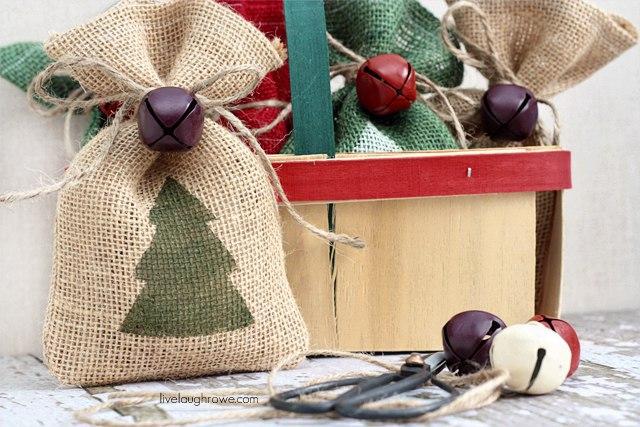 Как сшить подарочный мешок