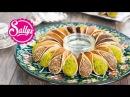 Atayef gefüllte arabische Desserts mit Pistazien und Krokant zwei Füllungen