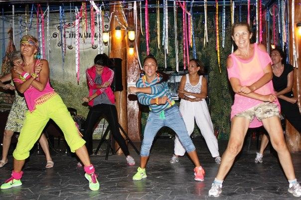 Zumba Fitness вечеринка!