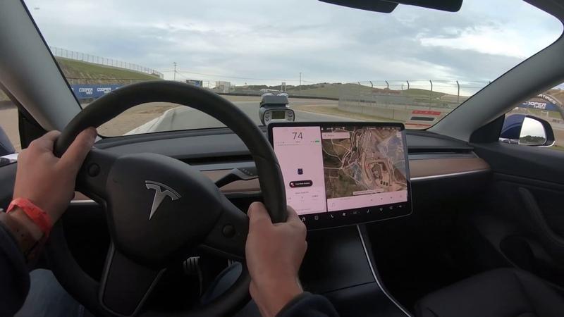 Tesla Model 3 Perf Laguna Seca - 1:41.28