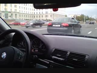 Baker – BMW E46 330ci VS BMW F30 (Ride in City Traffic)