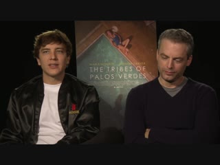 My Interview with Cody Fern and Justin Kirk about THE TRIBES OF PALOS VERDES