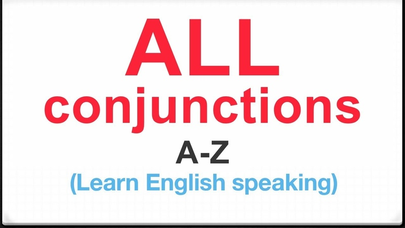 All Conjunctions in English with Examples