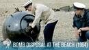 Bomb Disposal on Britain's Beaches (1964)   British Pathé