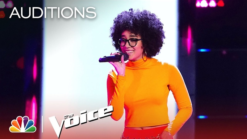 Mari's Boo'd Up Is Cool and Confident - The Voice Blind Auditions 2019