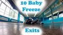 10 Baby Freeze Exits