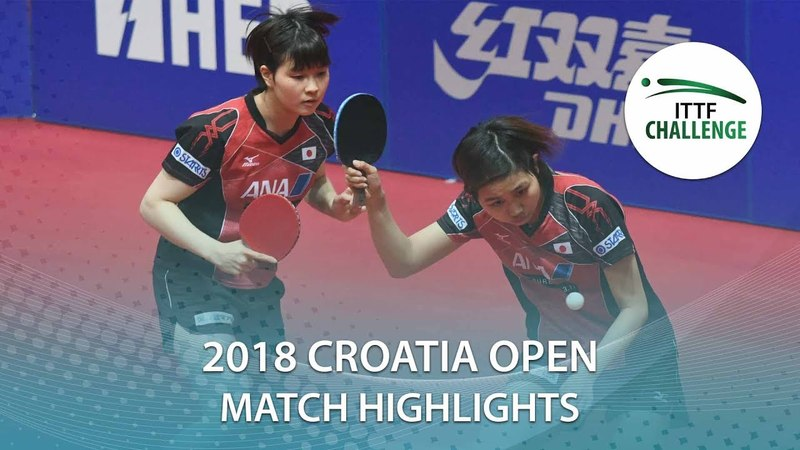 2018 Croatia Open Highlights I Matilda EkholmGeorgina Pota vs Sato HitomiHonoka H. (Final)