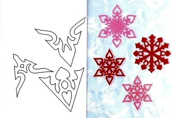 Новогодние снежинки из бумаги своими руками схемы 22