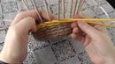 Прямая и обратная веревочка Плетение из газетных трубочек