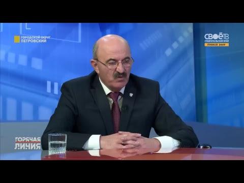 Горячая линия. Mестные вопросы Петровского городского округа
