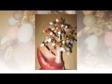 Поделки к пасхе своими руками. Пасхальное дерево жизни из бисера